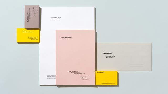 Minimalist Brand Identity Created from Golden Ratio