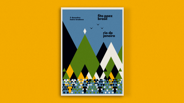 Modernist Take on Poster Design by Max Rompo