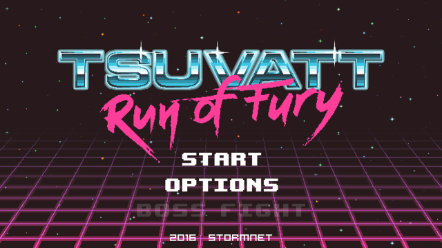 Tsuvatt Run of Fury Game Design
