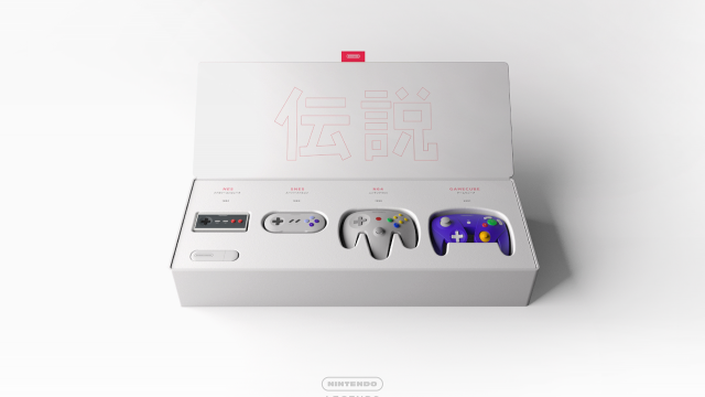 Nintendo Legends Concept - Industrial Design