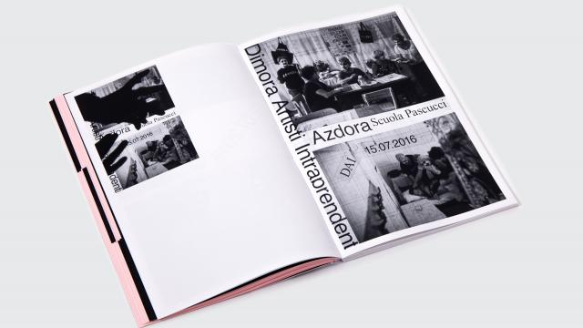 Editorial Design for Analog Collective Memory