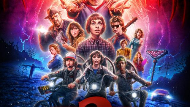 80s Throwback with Netflix's Stranger Things 2 Tribute Posters