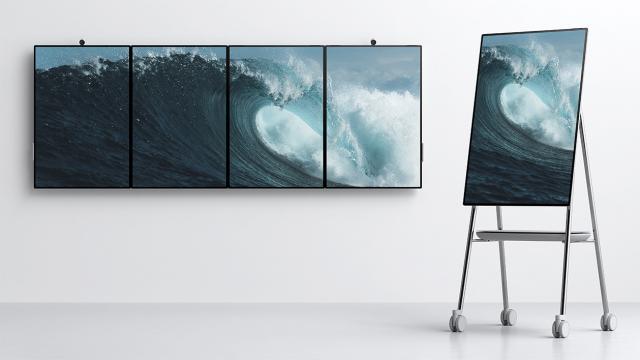Cool Tech: Microsoft's Surface Hub 2, the future of teamwork space
