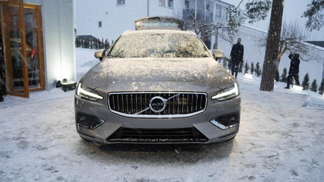 The new Volvo V60: the Unveiling Experience purely in Swedish Family Lifestyle