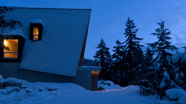 Whistler A-Frame Cabin - Architecture