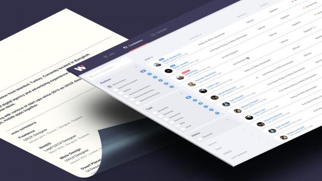 UX/UI Case Study: Workhiro