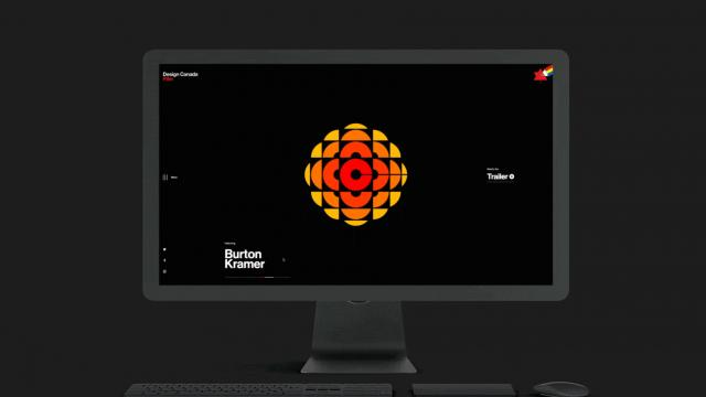 Responsive Web Experience for Design Canada Documentary