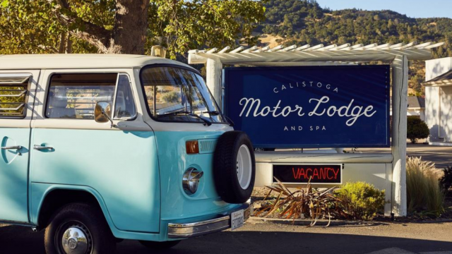 Hotel Design Love: The Calistoga Motor Lodge and Spa