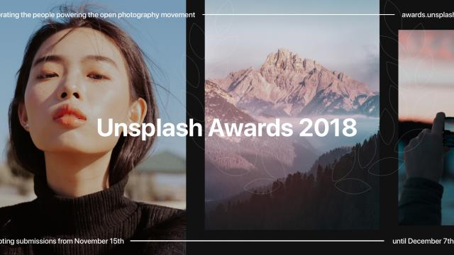 Introducing the #UnsplashAwards 2018 - Open Submissions