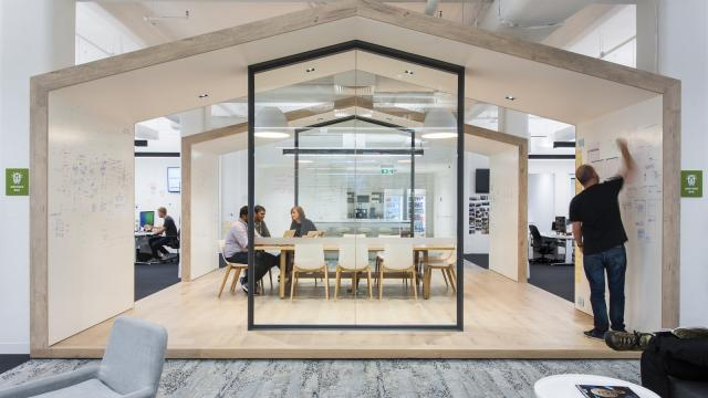 Brainstorming Rooms at the Zendesk Offices from Melbourne