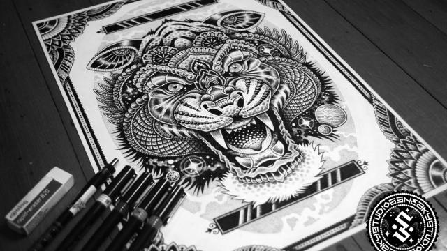 Stunning Hand Drawn Illustrations