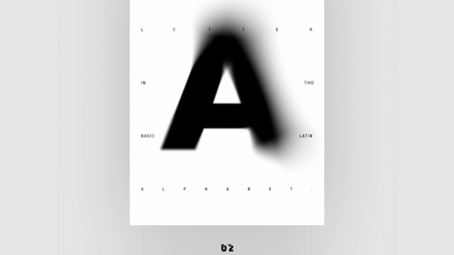 Posters with letter #A