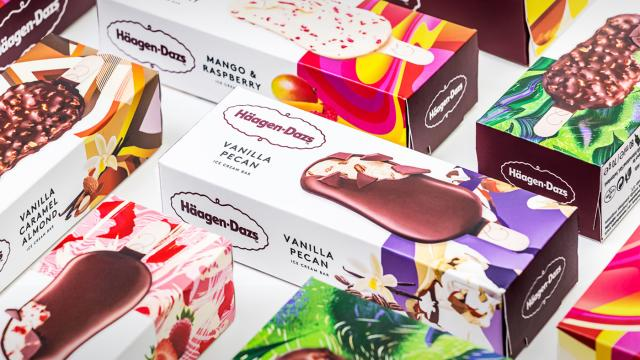 Illustration: Häagen-Dazs Packaging
