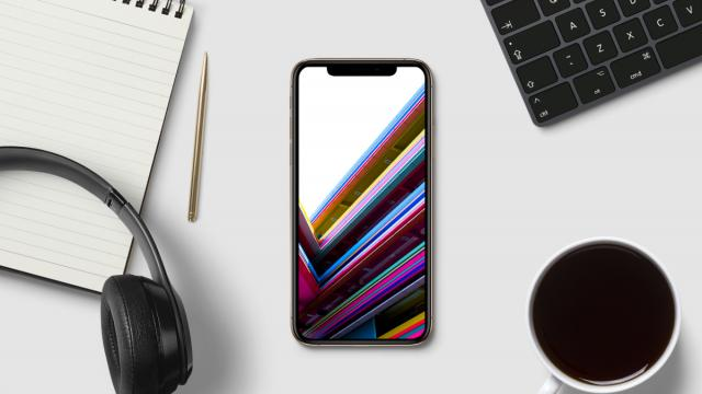Wallpaper of the Week - Colorful Lines from Singapore
