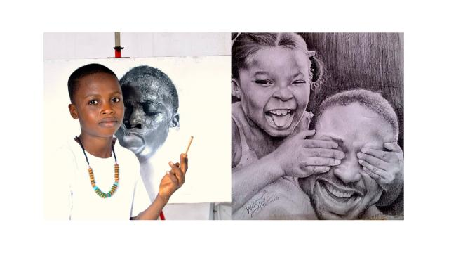 Meet Kareen Waris aka Waspa: 11-year-old kid with a tremendous drawing talent