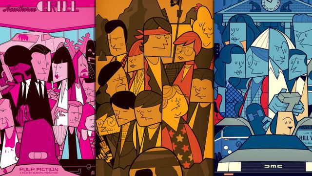 Super Cool Movie Illustrations by Ale Giorgini
