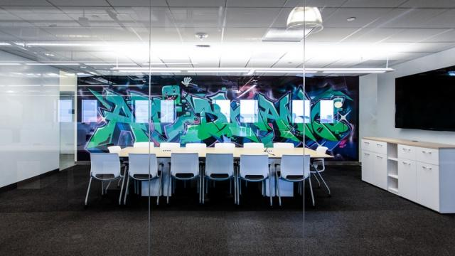 Behind the Scenes: Creating the Walls of AppDynamics Office