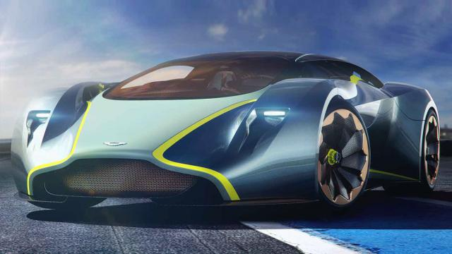 Car Design: Aston Martin DP-100 Vision Gran Turismo