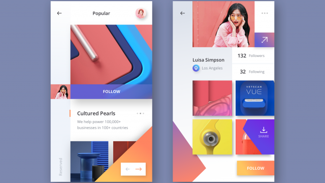 UI Inspiration: This week's selections from Outcrowd, Mario Šestak, Adrián Somoza and more
