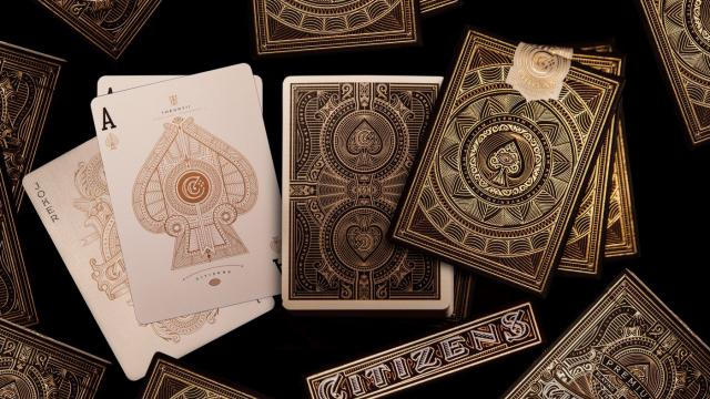 The most intricate deck of cards ever made
