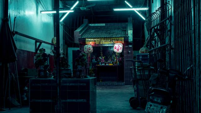BANGKOK PHOSPHORS: A photo book through the old and new streets of nocturnal Bangkok