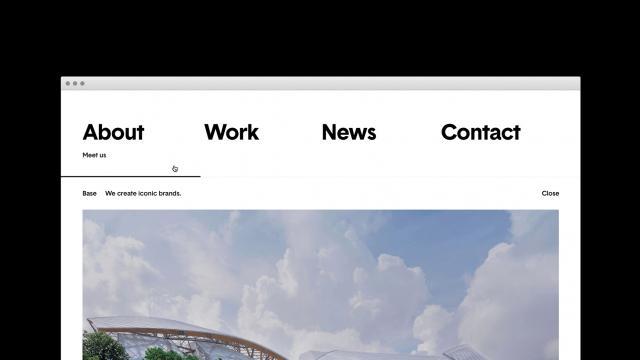 Minimalist Web Design Inspiration: Base