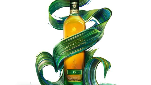 Illustration: Johnnie Walker x Pawel Nolbert
