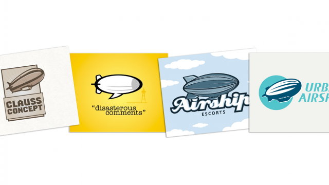 Logo Design: Blimps