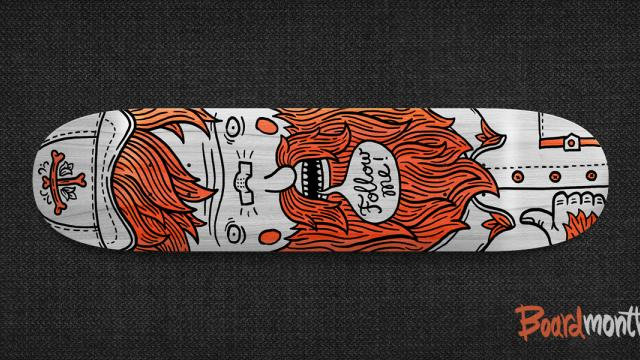 Rad Skateboard Designs by Alex Kurchin