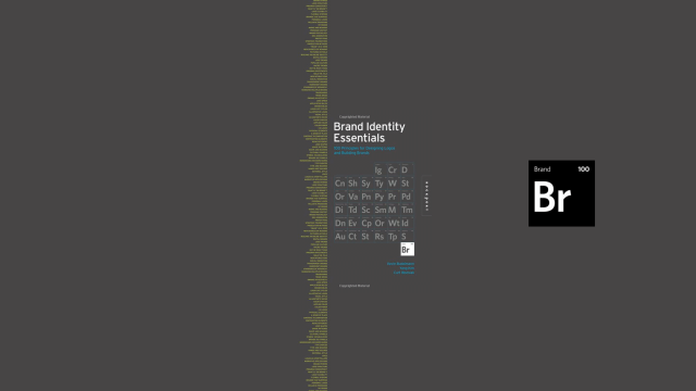 Essential Elements for Brand Identity: 100 Principles for Designing Logos and Building Brands