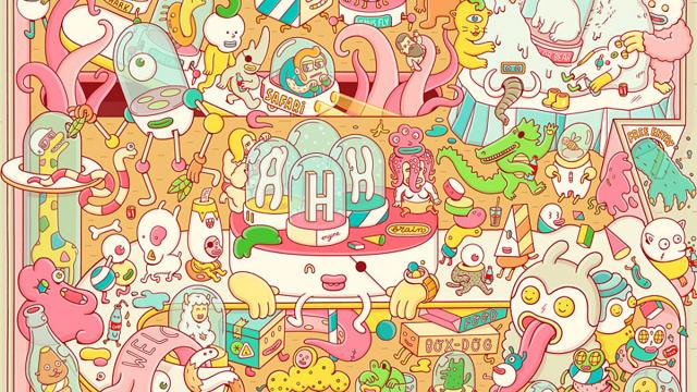 Playful & Colourful Works by Brosmind