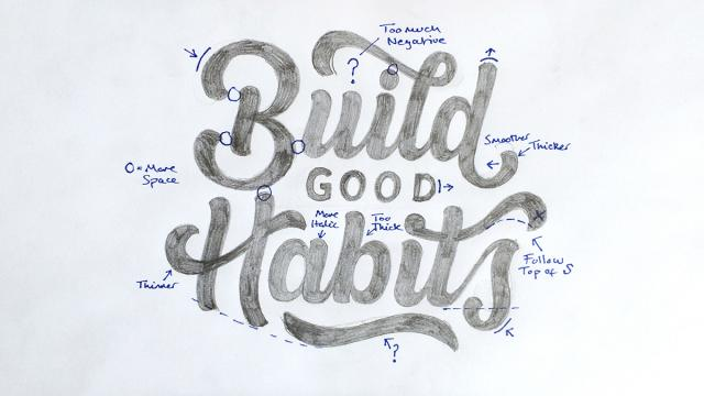 Lettering Works by Joe Sutton
