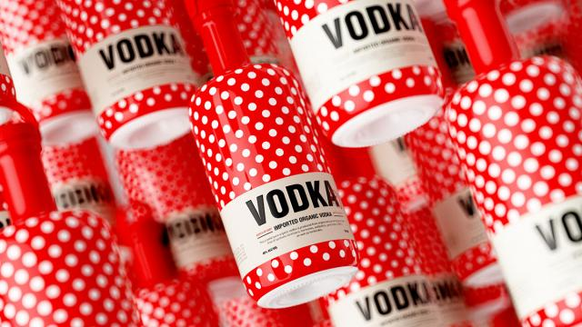 Packaging Design: Vodka-dot
