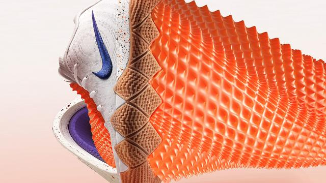 Visual Explorations and Experiments of Sneakers made in 3D