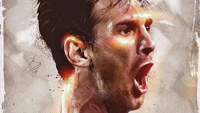 Artistic Portraits of Famous Athletes