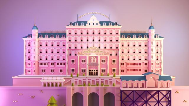 Santiago Moriv's Tribute to the Grand Hotel Budapest