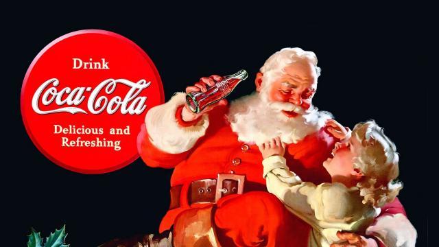 Coca-Cola Iconic Santa Claus Ads by Haddon Sundblom