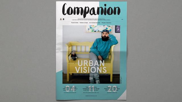 Editorial Design Inspiration: Companion Magazine