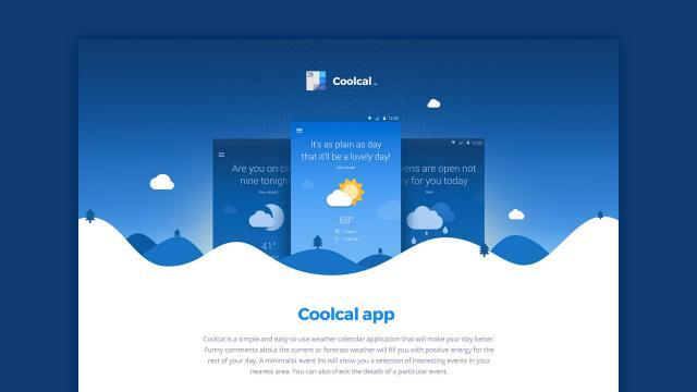 Coolcal - UI/UX
