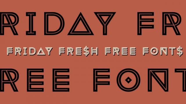 Friday Fresh Free Fonts - Attitude, Quark, ...