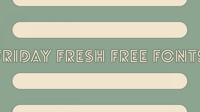 Friday Fresh Free Fonts - Palo Alto, Lovelo, ...