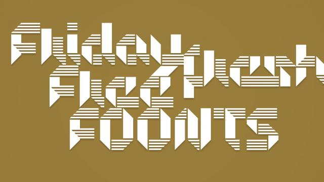 Friday Fresh Free Fonts - Sonar, Connie, ...