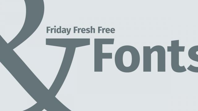 Friday Fresh Free Fonts - Permian Serif, Fire Sans, ...