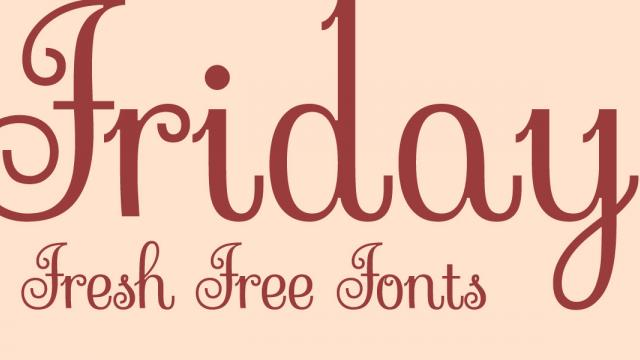 Friday Fresh Free Fonts - Porto, Sessions, Sevillana