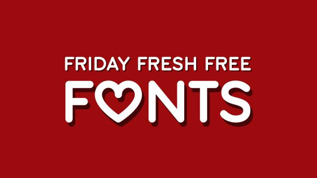 Friday Fresh Free Fonts - John Hancok, Sant Joan Despi, Streetwear