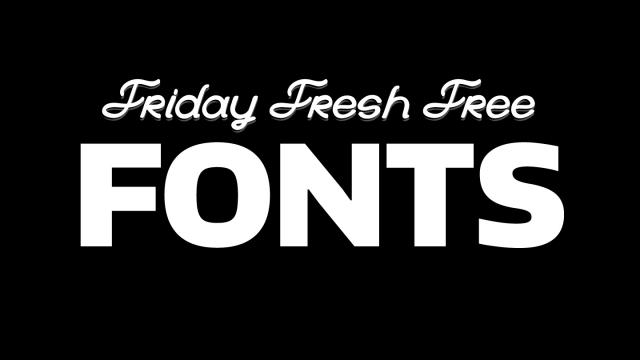 Friday Fresh Free Fonts - Moderne Sans, La Bande, Encode Sans