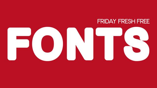 Friday Fresh Free Fonts - Bold Bold, Anke, Gasalt