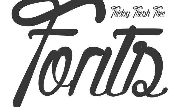 Friday Fresh Free Fonts - Quality Street, Berlin, Source Serif Pro