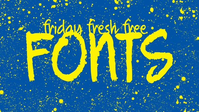 Friday Fresh Free Fonts - Alpaca, Cooper Hewitt, Quickhand