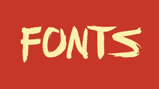 Friday Fresh Free Fonts - Anders, FFAD Matro, Zona Pro